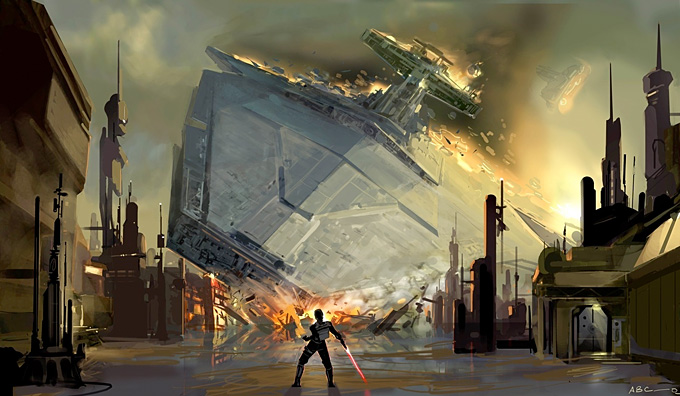 Star Wars: The Force Unleashed Concept Art