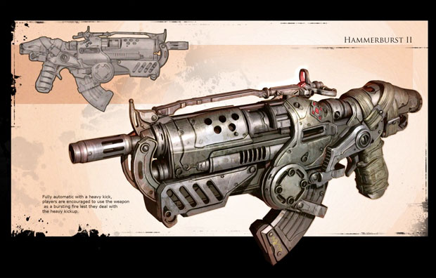 Gears of War 2 Concept Art