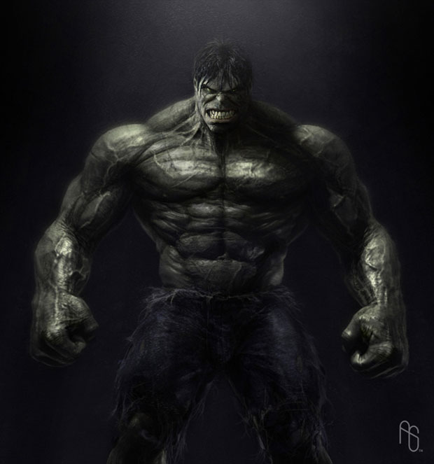 Incredible Hulk Concept Artwork