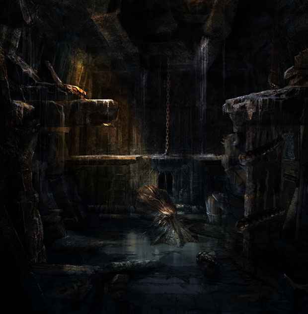 Tomb Raider : Underworld Concept Art