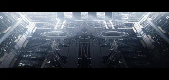 Levente_Peterffy_Concept_Art_13_space_port_city