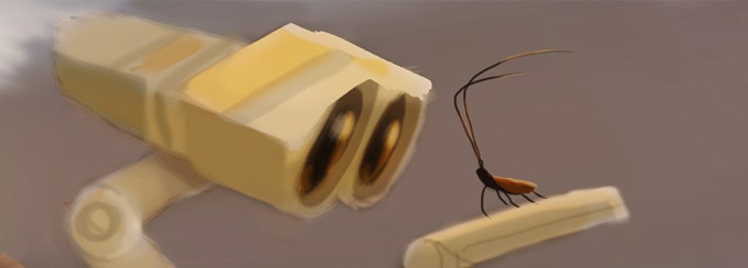 Wall-E Concept Artwork