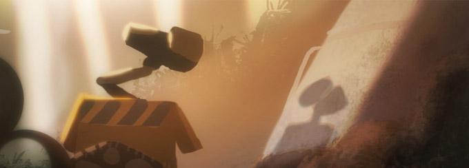 Wall-E Concept Art   Concept Art World