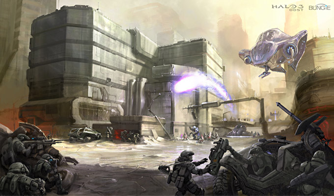 Halo 3: ODST Concept Art