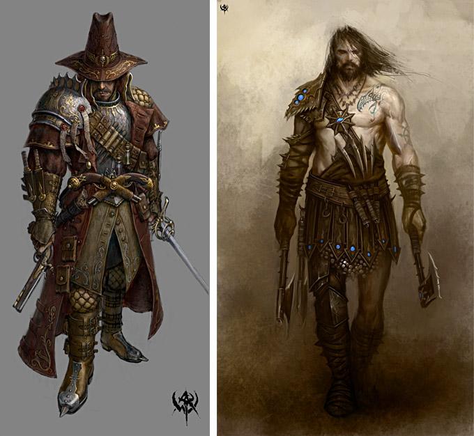 Warhammer Online Concept Art Concept Art World
