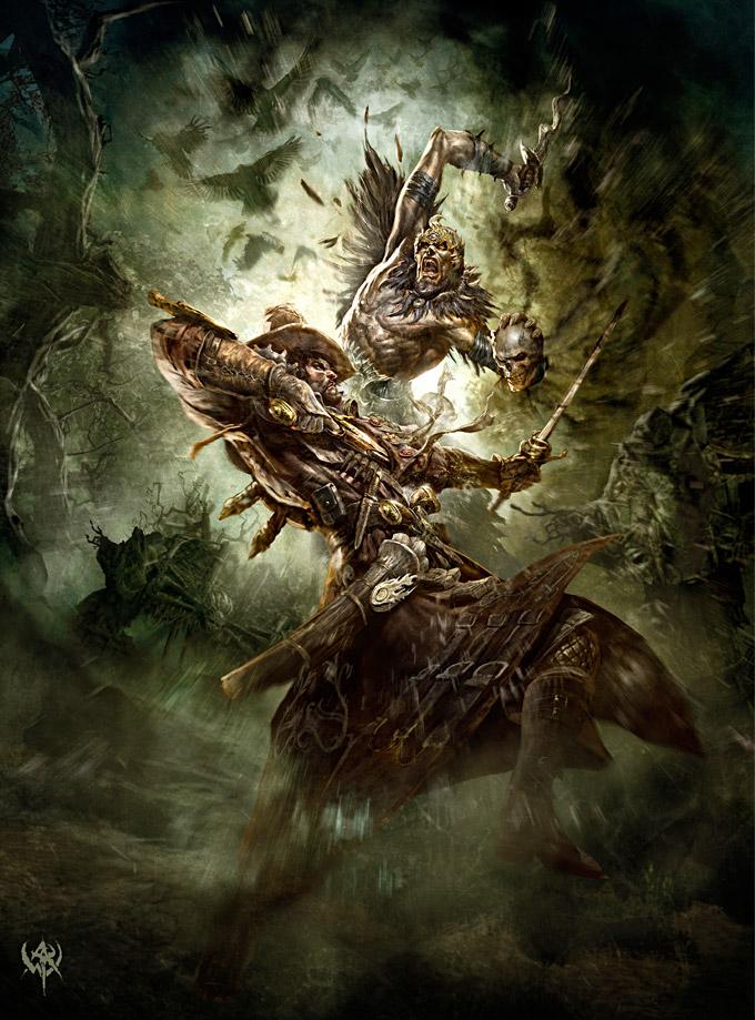 Warhammer Concept Art Concept Art World