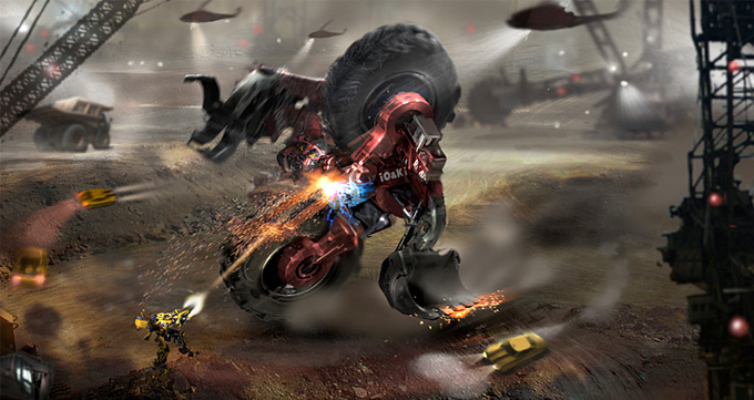 Transformers: Revenge of the Fallen Concept Art