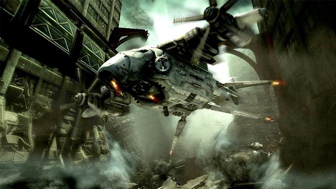 Bionic Commander Concept Art