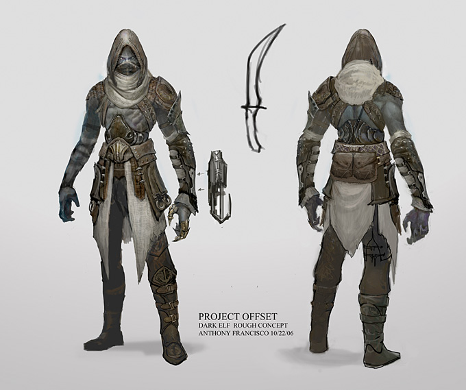 Anthony Francisco Concept Art