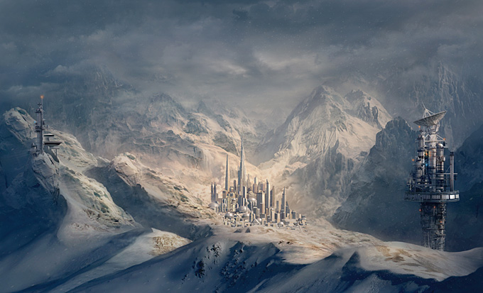 Sarel Theron Concept Art