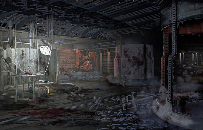 Visceral Games Concept Art