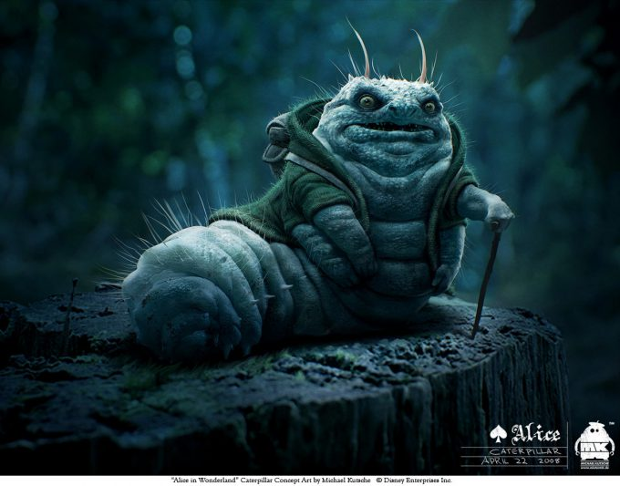 Michael_Kutsche_Concept_Art_alice-initial-caterpillar