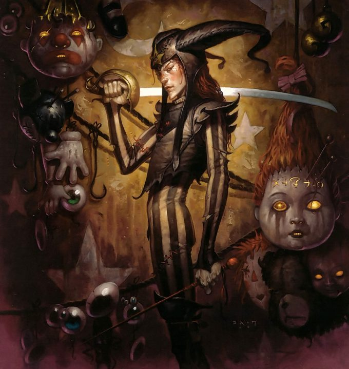 Gerald Brom Art painting illustration The Plucker 01
