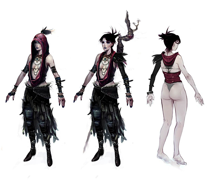 Dragon Age: Origins Concept Art