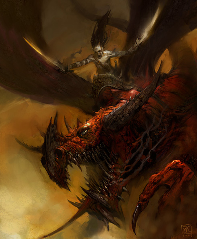 Vance Kovacs Dragon