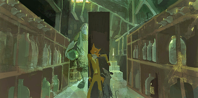 Fantastic Mr. Fox Art