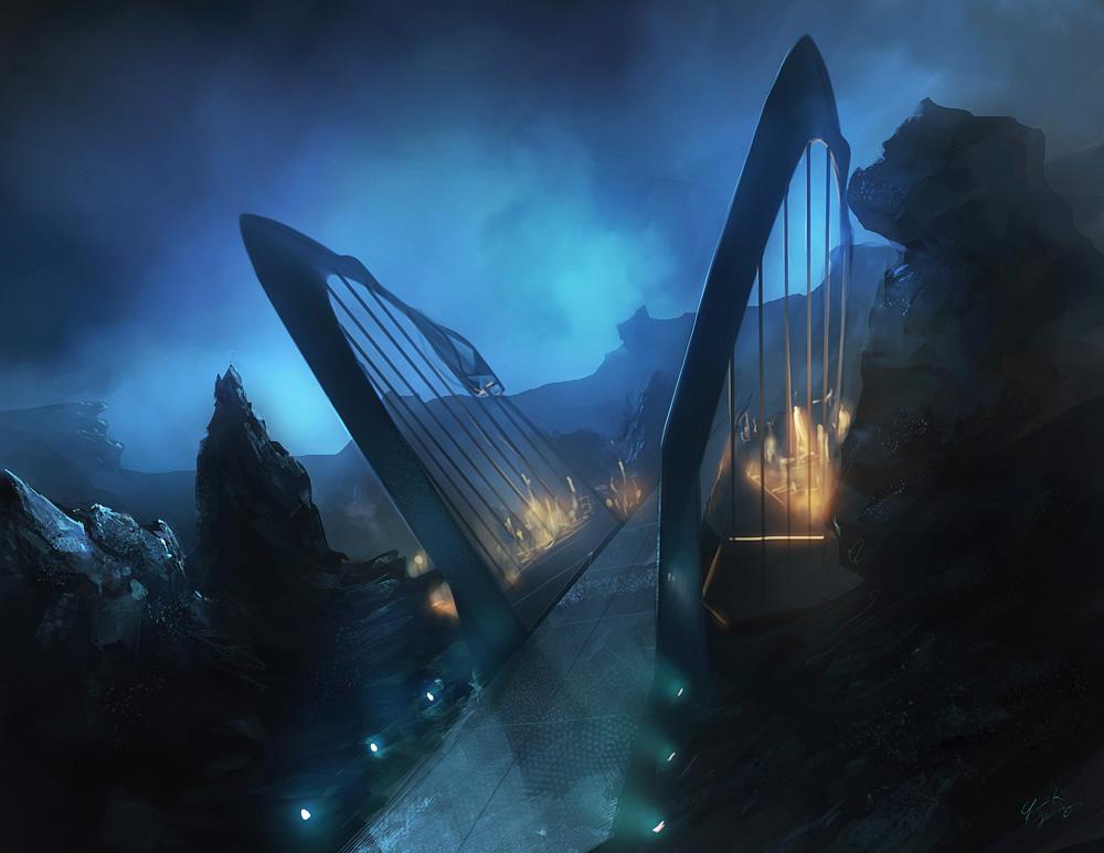Frank Hong Concept Art