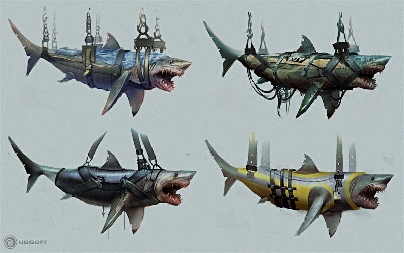 Herve Groussin Concept Art