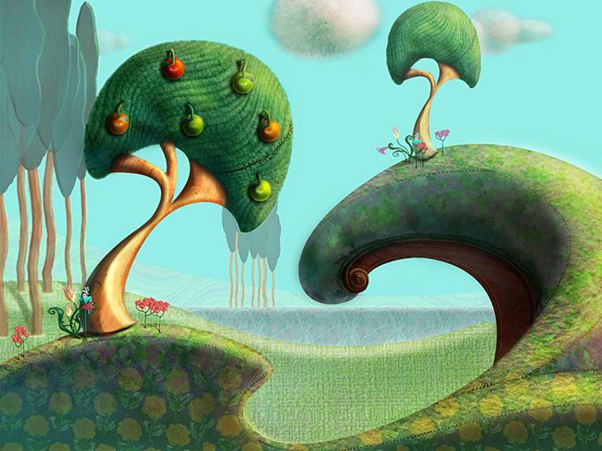 Little Big Planet Concept Art