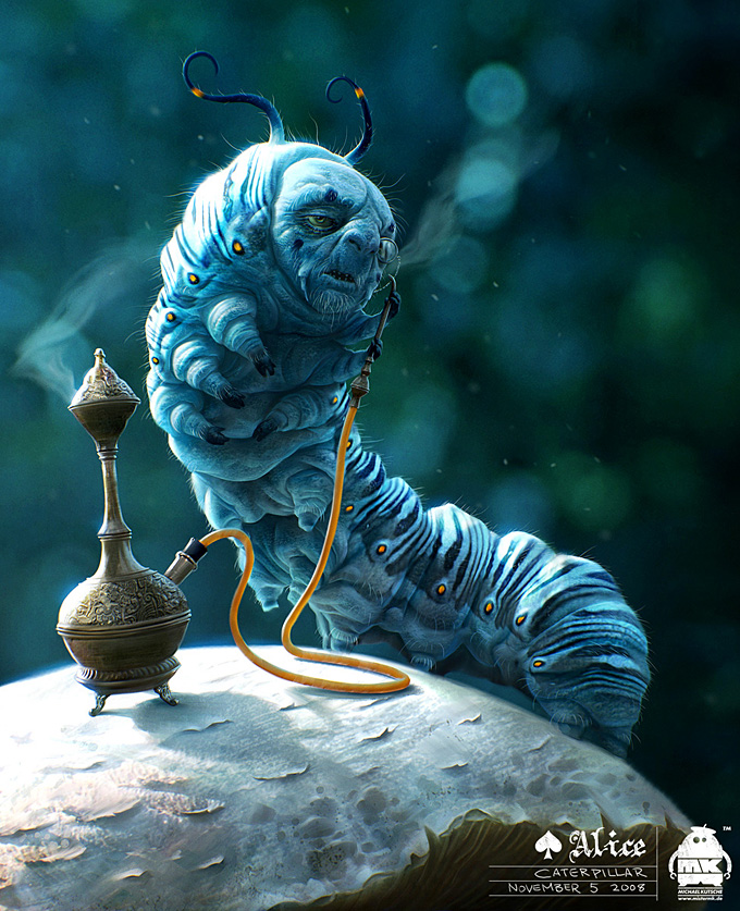 Alice in Wonderland by Michael Kutsche | Concept Art World