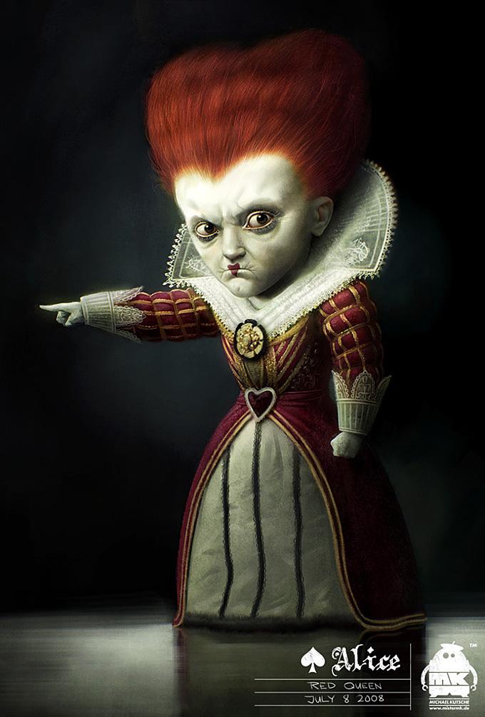 Alice in Wonderland by Michael Kutsche