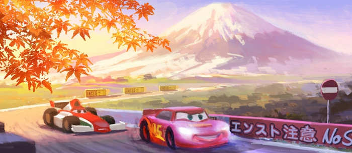 Cars 2 Concept Art main