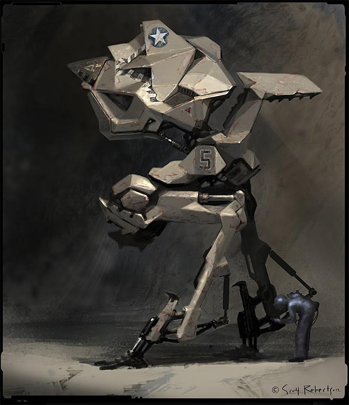 Scott Robertson Mech Concept Art 01a