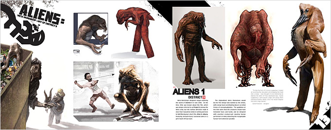 [bank] liste d'ART BOOK Art_of_District_9_Weta_WorkShop_04a