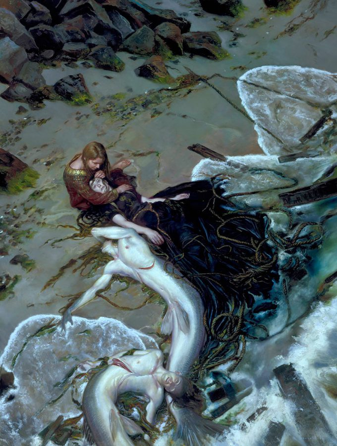 Donato_Giancola_Art_Illustration_Golden_Rose