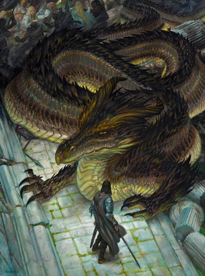 Donato_Giancola_Art_Illustration_Sack_of_Nargothrond