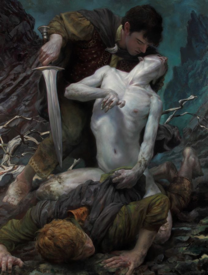 Donato_Giancola_Art_Illustration_Taming_of_Smeagol