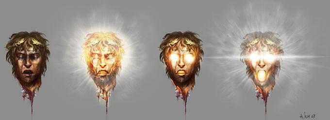 God Of War Iii Concept Art By Andrew Kim Concept Art World