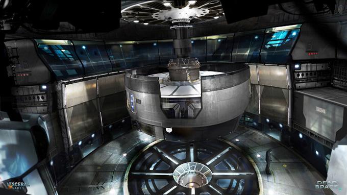 Dead Space 2 Securit Suit Concept Art