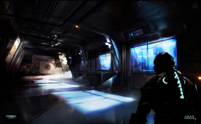 Dead Space 2 Concept Art by Joseph Cross