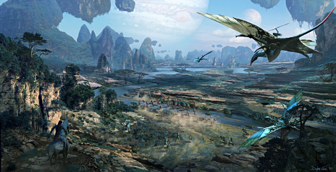 Avatar Concept Art by Dylan Cole : Concept Art World
