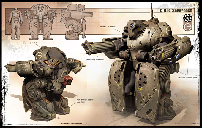 gears of wars 3 concept art concept art world