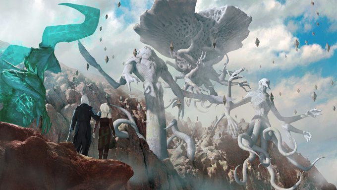 Igor_Kieryluk_Concept_Art_Illustration_Story_Shot_The_Three_Planeswalkers_Trap_the_Eldrazi