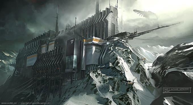 Kill Zone 3 Concept Art by Jesse van Dijk 03a