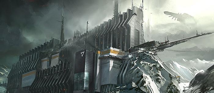 Kill Zone 3 Concept Art by Jesse van Dijk main