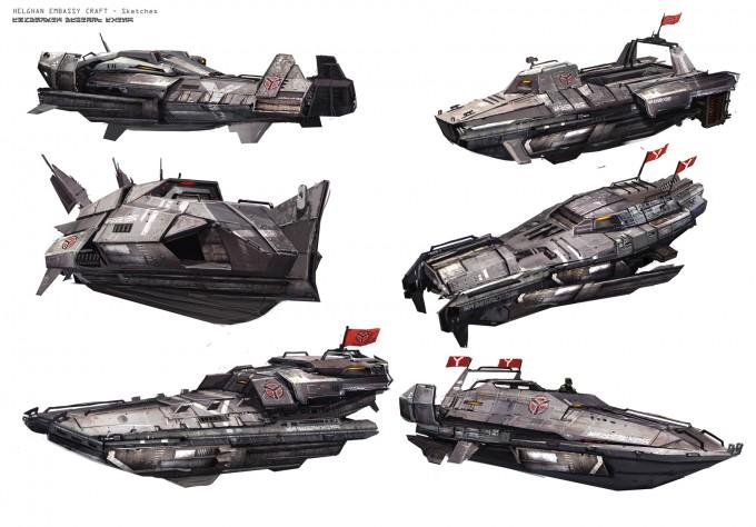 Atomhawk_KillZone_Helghast_Gunboat