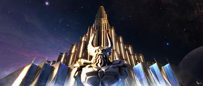 Thor Concept Art by Craig Shoji 26a