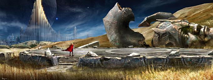 Thor Concept Art by Craig Shoji 27a