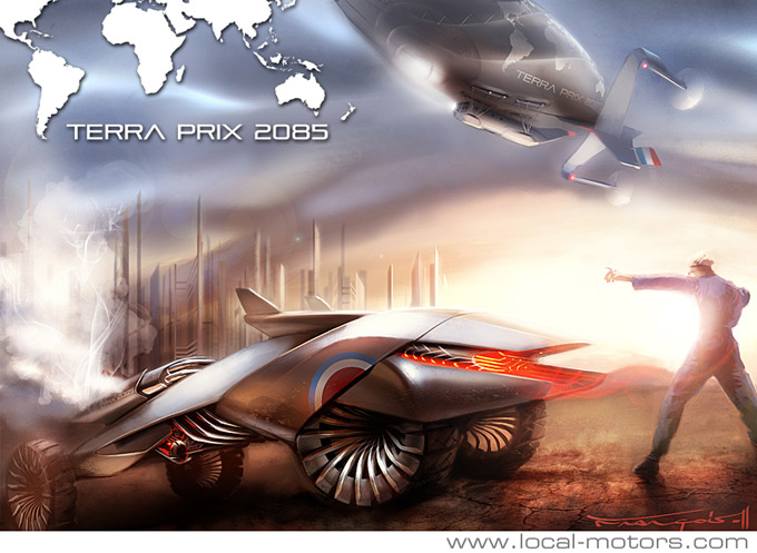 Terra Prix 2085 Concept Art Competition