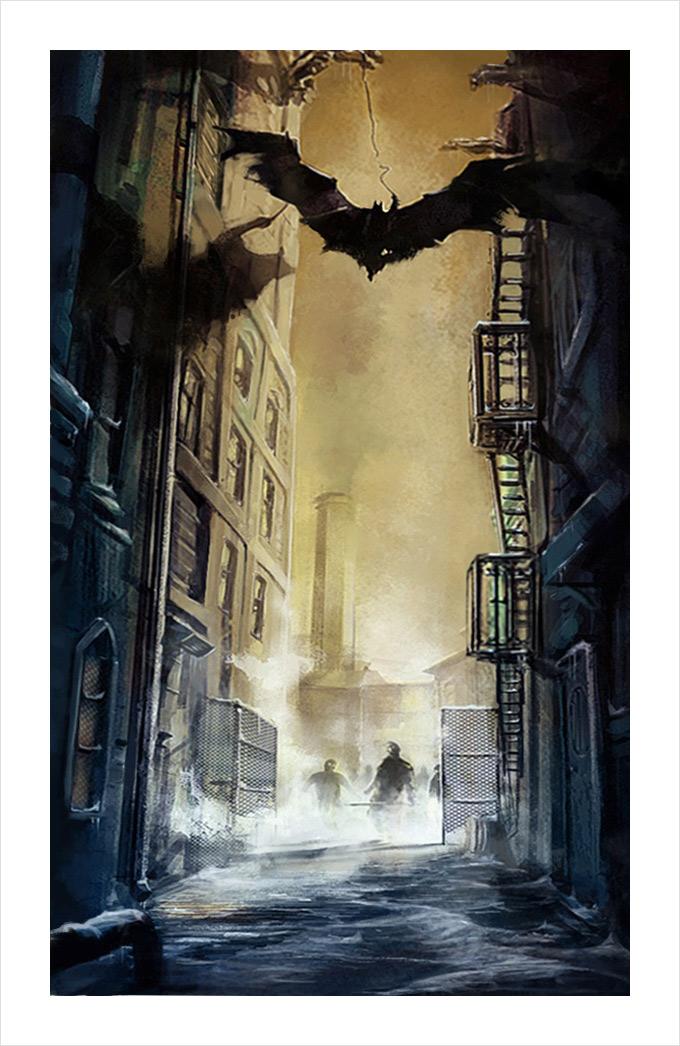 Batman Arkham City Art 10a
