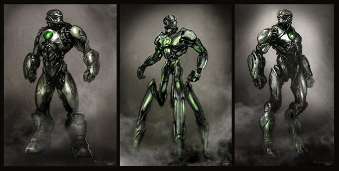 Green Lanter Concept Art by Aaron Sims Company 13a