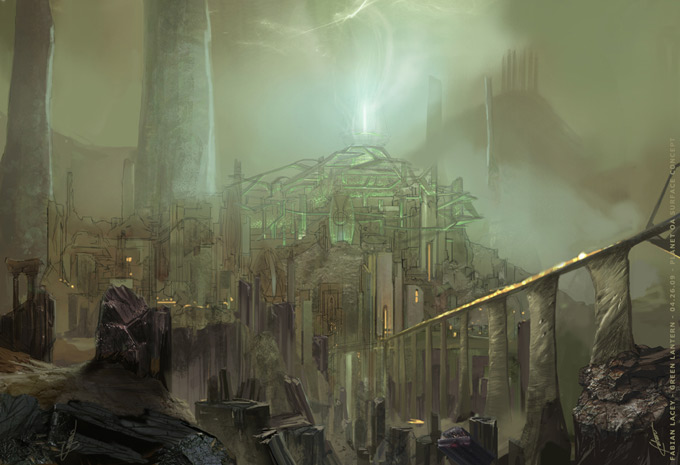 Green Lantern Concept Art by Fabian Lacey 12a