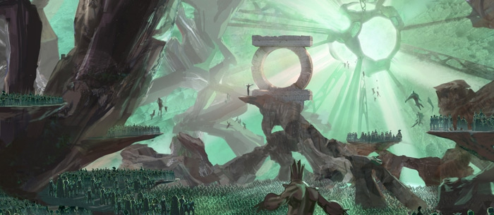 Green Lantern Concept Art by Fabian Lacey main