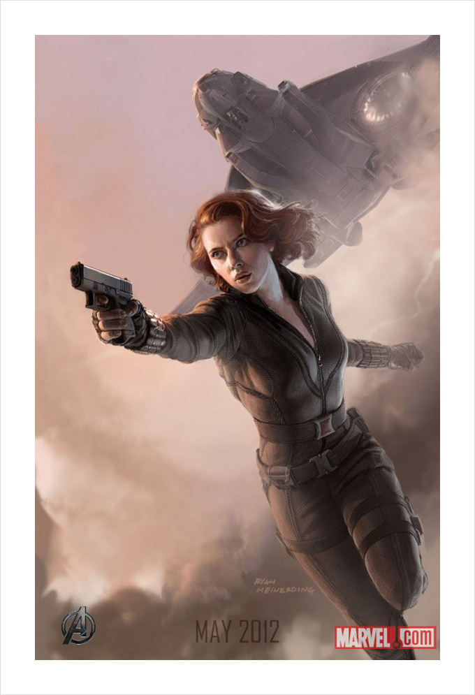 The Avengers Black Widow Concept Art 01a