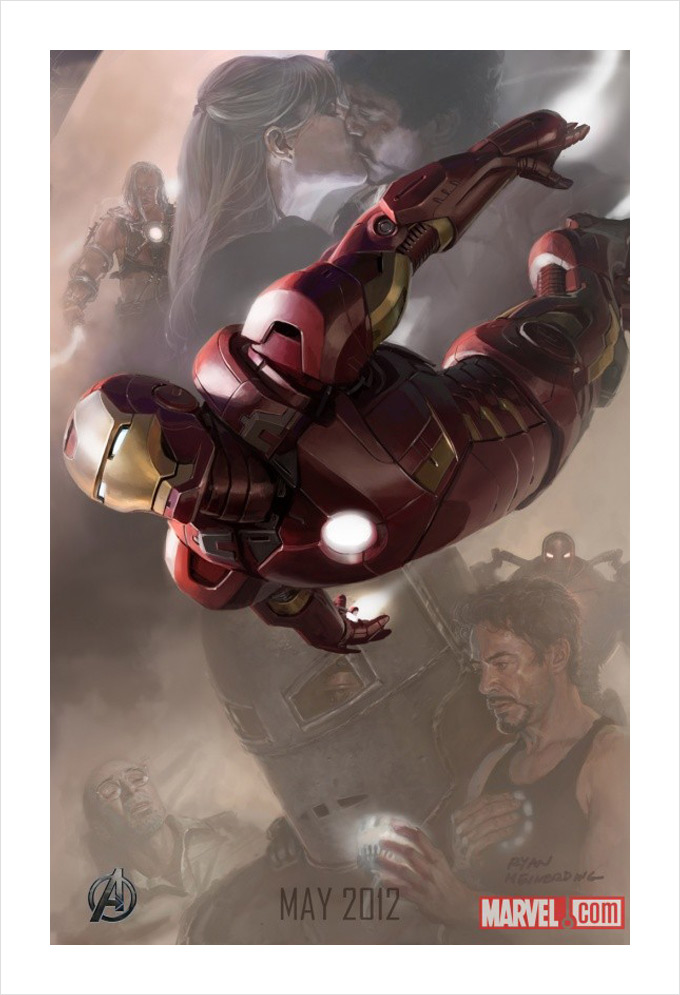 The Avengers Iron Man Art 01a