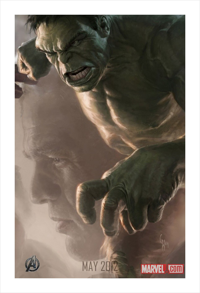 The Avengers The Hulk Concept Art 01a